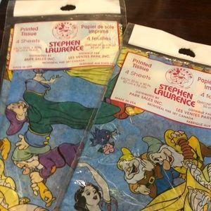 NIP Disney Tissue by Stephen Lawrence
